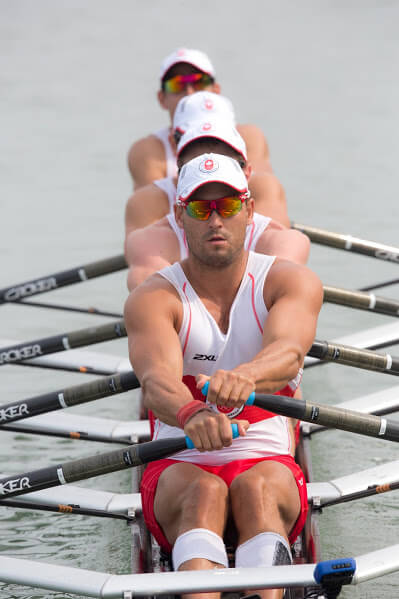 Men's 4x at Pan Am Games