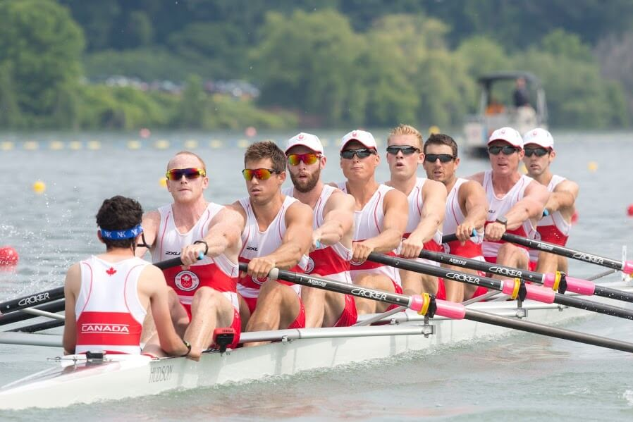 M8+ at Pan Am Games
